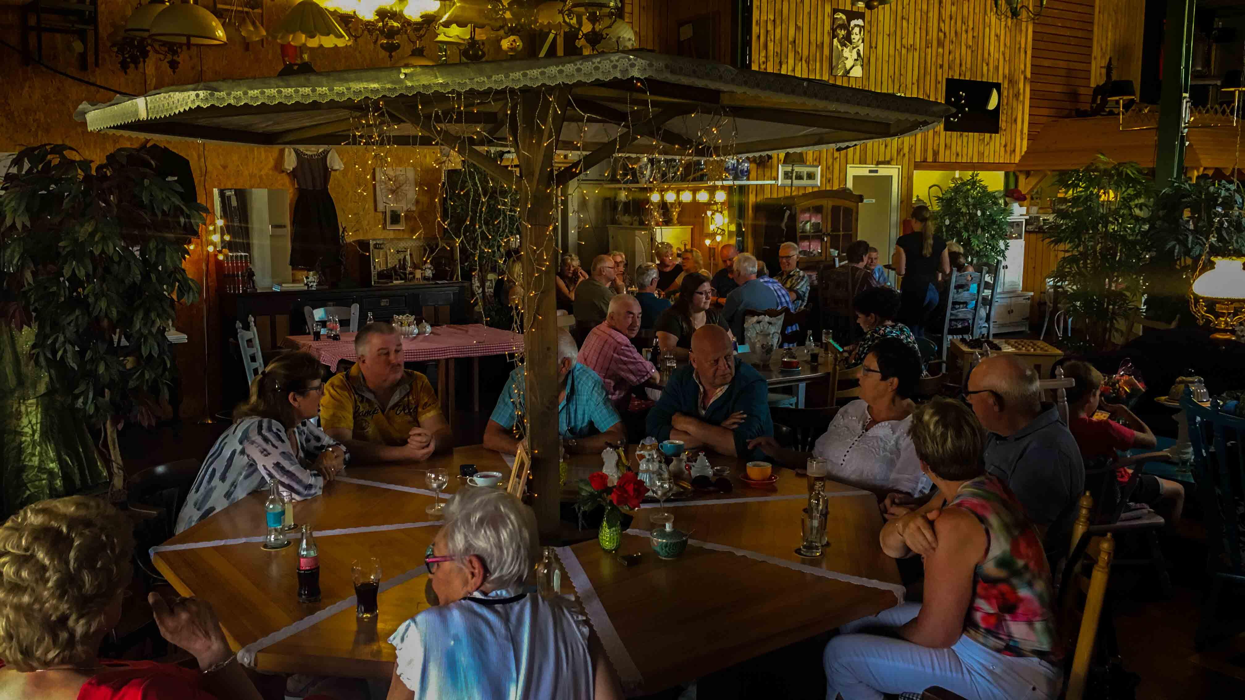Impressie Lunchroom Bij Saartje, Lunchroom, foto's, feest