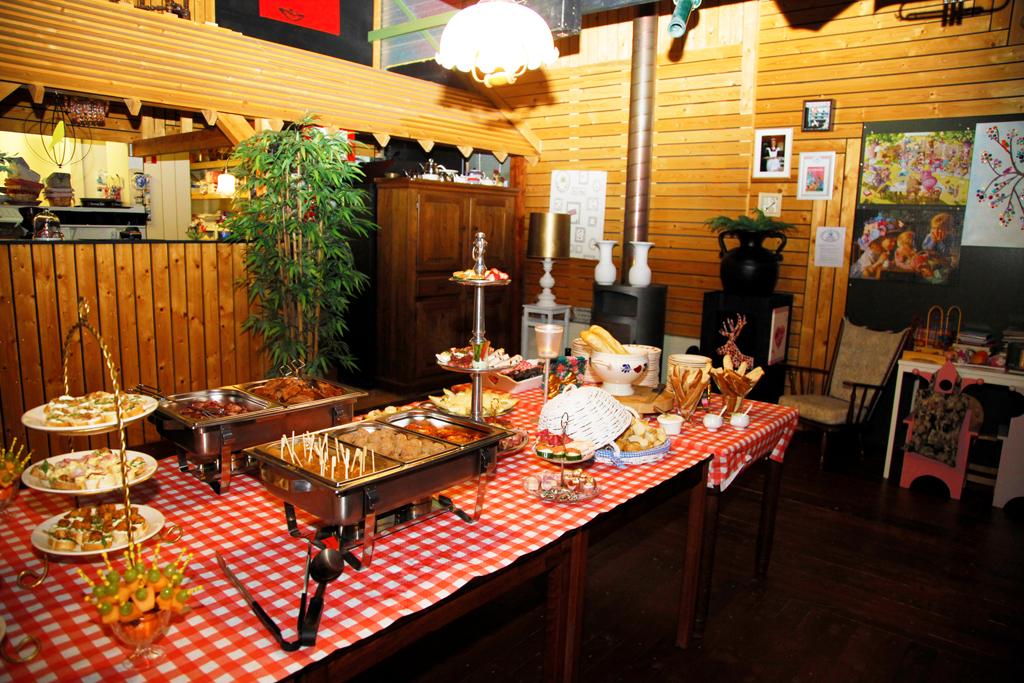 buffet, feest, Overijssel, Vroomshoop, Lunchroom Bij Saartje