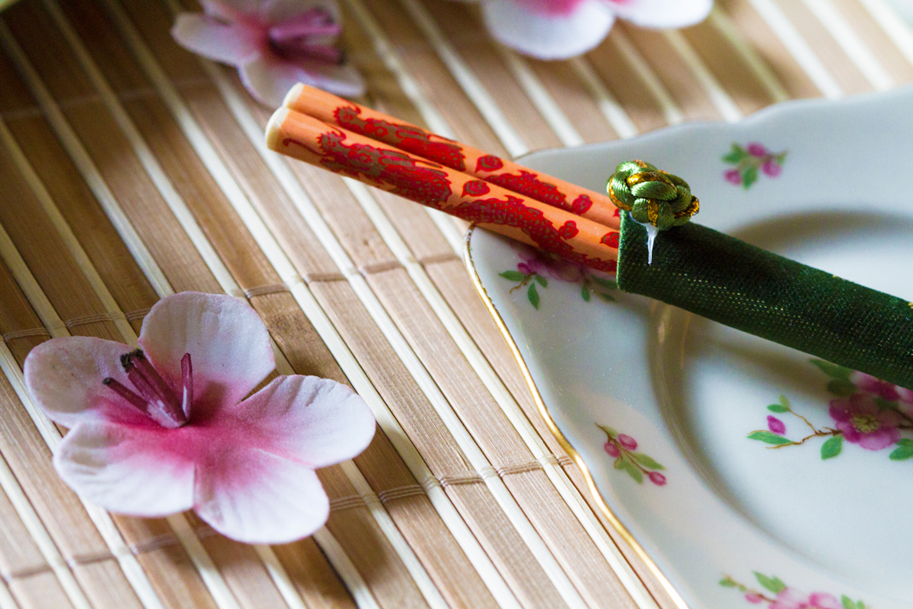 Deco Japanse High tea, Japanse tea room, Lunchroom Bij Saartje, High tea Overijssel, High tea Vroomshoop,