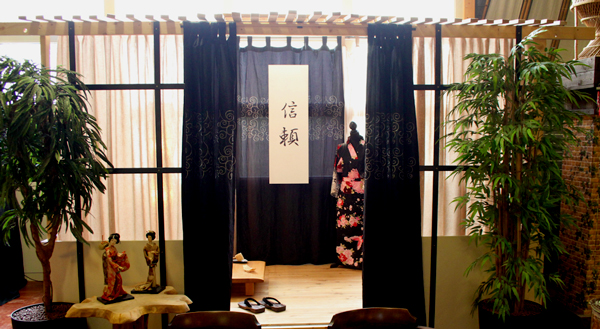 Japanse thee ruimte, Japanse High tea, Japanse tea room, Lunchroom Bij Saartje
