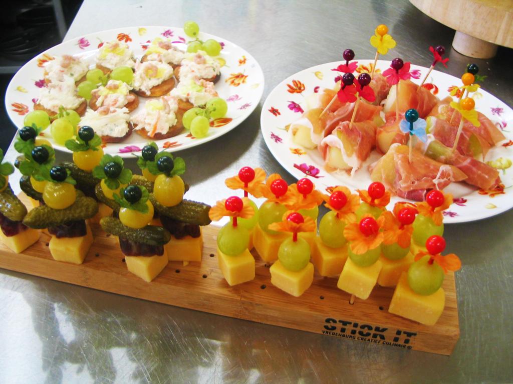 Catering, hapjes, Lunchroom Bij Saartje, feest, feestlocatie