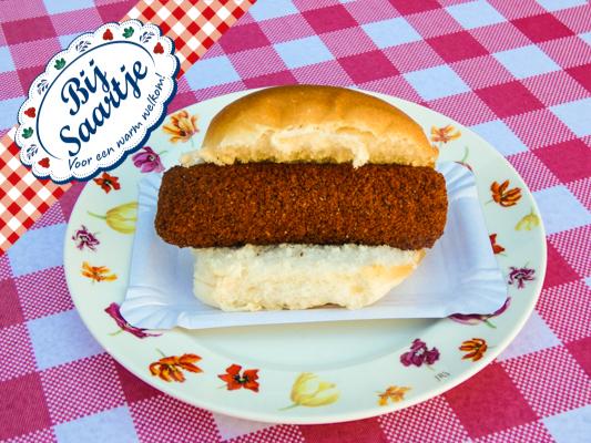 Broodje kroket Lunchroom Bij Saartje