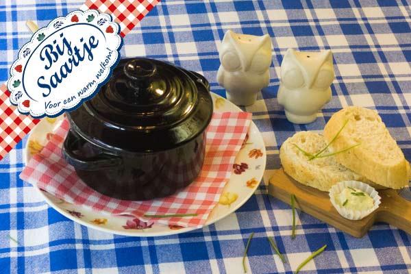 soep van de dag, soep, Lunchroom Bij Saartje, soepje