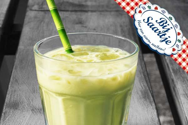 Japanse Thee, Chai Latte Ice, Matcha, Chai Latte Matcha, ijs, gezond drinken, Lunchoom Bij Saartje