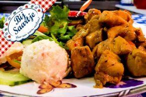 hete kip, oma's favoriete frietjes, boerengroente, Lunchroom Bij Saartje
