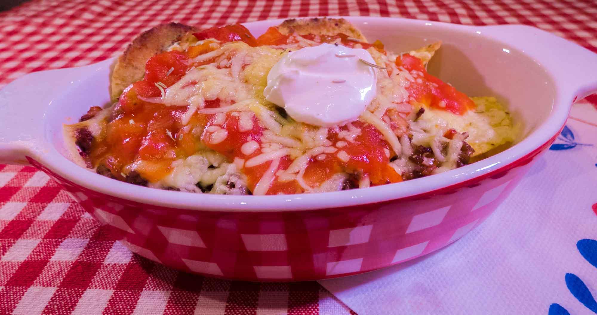 Nacho's met gesmolten kaas, Lunchroom Bij Saartje