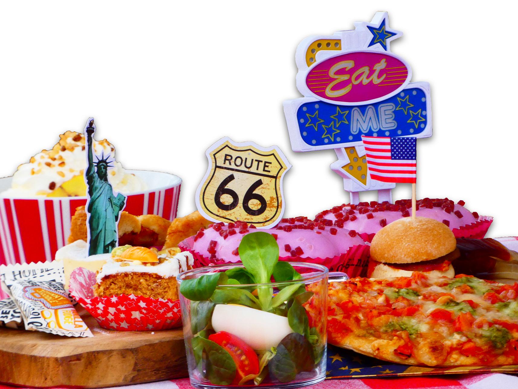 Foute Amerikaanse Tea Party, Lunchroom Bij Saartje, Amerikaanse High tea, High tea Vroomshoop, High tea Overijssel