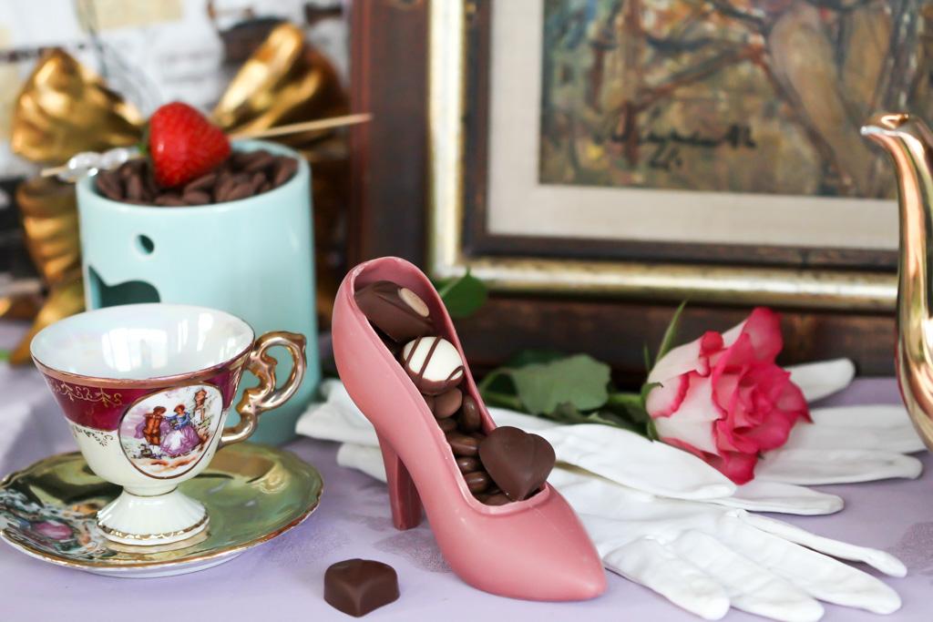 Haut Chocolat sfeerimpressie Bij Saartje